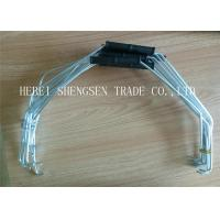 China 3L - 20L Metal Handle For Plastic Buckets With White Durable Plastic Grip wholesale