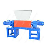 China Widely used, different material process, Waste Wood Pallet, Metal, Carboard Paper, Bucket Plastic Double Shaft Shredder wholesale