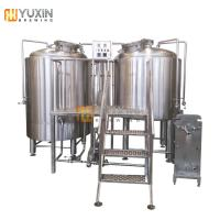China Beer Brewhouse 500L 1000L Nano Beer Brewing Equipment System wholesale