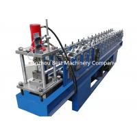 China Drywall Partition C U Profile Metal Stud And Track Roll Forming Machine PLC Control wholesale