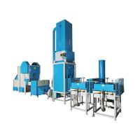 High Efficiency CNC Pillow Filling Line With Weight System Support By SIEMENS