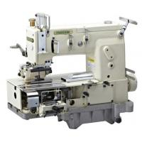 China 12-needle Flat-bed Double Chain Stitch Sewing Machine for simultaneous shirring FX1412PQ wholesale