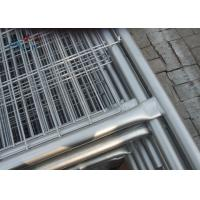 Buy cheap Steel Galvanized Temporary Fencing Removable Construction Welded Wire Mesh Fence from wholesalers