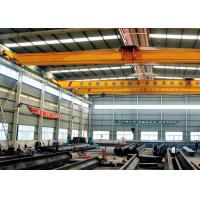 China Single Beam Travelling Overhead Crane , Low Headroom Bridge Crane With End Carriages wholesale