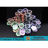 Buy cheap 12g  Clay  Poker Chips with Ultimate Sticker from wholesalers
