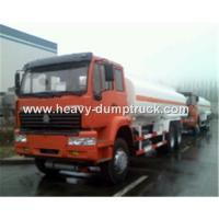 China Fuel Transportation Oil Tank Truck 6x4 25 CBM With HF7 Front Axle and ST16 Rear Axle wholesale