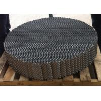 China High Performance Filler Metal Structured Packing Pressure Reduction Flexibel Operation wholesale