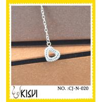 China Crystal, rhinestone handcrafted crystal jewelry / crystal necklace - take me to your heart wholesale