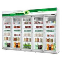 China 0 - 10℃  -18 ~ -22℃ Commercial Beverage Cooler With Thermostat Control System wholesale