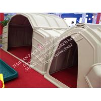 China Farm Cow Calf Hutch With Steel Fence Around , Calf Houses Cow Cubicles wholesale