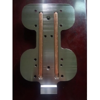 China Mature Technology For Water Liquid Cooling Blocks Cold Plate With Copper Tube wholesale
