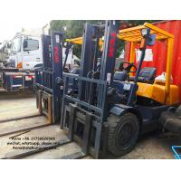 China Isuzu Diesel Engine Forklift Truck , TCM 3T Used Manual Forklift Truck wholesale