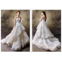 China Newest Style Hot Selling White Ball Gown Wedding Dresses For Ladies wholesale