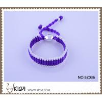 China Hot Selling Handmade Bracelet in Violet BZ036 wholesale