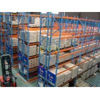 China Narrow Aisle Pallet Style Steel Warehouse Storage Racks / Adjustable Selective Rack wholesale