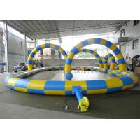 China Inflatable Go Kart Track For Hamster Zorb Ball / Rollerball Zorbing Game wholesale