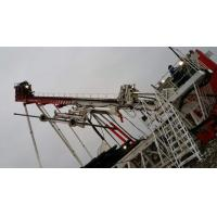 China Oilfield Rig Equipment Drilling Rig Top Drive Inclined Adjustable Mast  12 - 90 Deg wholesale