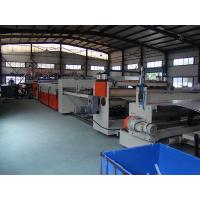 Quality Hollow Cross Section Plate Plastic Sheet Making Machine / Plastic Sheet for sale