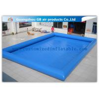 China 12 * 10m Summer Large Inflatable Swimming Pool For Adults Customized wholesale