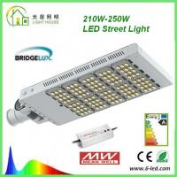 China Rotatable 200W LED street light 50000 Hrs Life Span AC 85 – 277 V CE RoHS Certificate wholesale