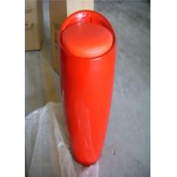 Quality White Red Storage Bar Stools / ABS Bar Stools H-110 , PU Cap , Storage Function for sale