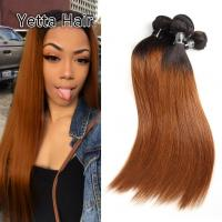 China Comfortable 1B/30# Color Human Ombre Hair Extensions For Women CE BV SGS wholesale