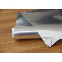 Quality Impermeable Aluminium Foil Jumbo Roll / Aluminium Kitchen Foil Roll One Pack In for sale