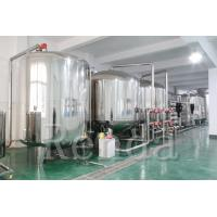 China 10 TPH Drinking Water Filter RO Water Treatment Systems 220V Easy Operation wholesale
