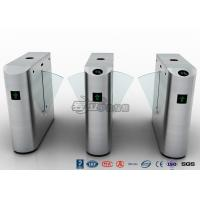 China Security Subway Turnstile Barrier Gate , Automatic Half Height Turnstile wholesale