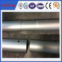 China Industrial oem factory china milling and drilling,aluminium pipes tubes specially for rack wholesale