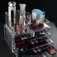 China CB (44) plastic clear cosmetic organizer wholesale