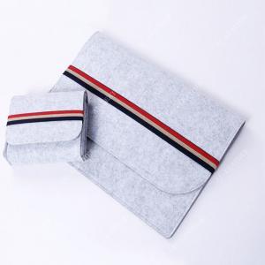 China Wool Felt Elastic Band 11 12 Inch Laptop Protective Sleeve wholesale