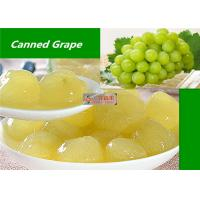 China Healthy Canned Fruit Food Grape In Syrup / Natural Seedless Green Grapes wholesale