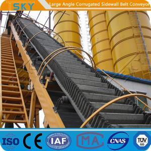 China 160mm Sidewall 3.15m/s B1200 High Angle Belt Conveyor wholesale