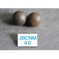 Quality 62-63HRC Grinding-Resisting Hot Rolled Grinding Steel Balls for Ball Mill , Wear for sale