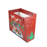 China Customized Size Personalised Printed Gift Bags Coated Paper Material For Christmas wholesale