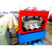 Buy cheap High Speed Metal Deck Roll Forming Enquipment Color Steel With PLC System from wholesalers