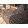 China 3003 3105 5052 Aluminium Checker Plate / Aluminium 5 Bar Tread Plate Damp Proof wholesale