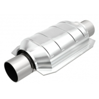 China California Grade Carb Compliant 64mm Universal Cadillac Converter 2.5 Inch Stainless Steel Construction wholesale