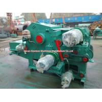 China Electric Drum Chipper Machine Drum Type Industrial Wood Chipper Energy Saving wholesale
