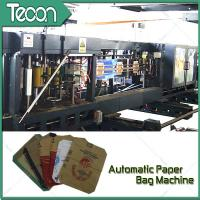 China Flat Bottom Pasting Paper Bag Forming Machine Which Can Pack 50Kg Cement wholesale