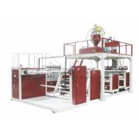 Quality 3800kg - 6000kg High Speed Air Bubble Film Machine HDPE / LDPE Material for sale