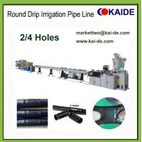 Buy cheap Drip Irrigation Pipe Prodution Machine with 2 holes 4 holes 6 holes China factory price product