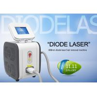 China 808 nm Permanent Diode Laser Hair Removal Machine Comfortable Pain Free wholesale