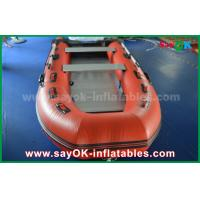 China Durable Tarpaulin PVC Inflatable Boats with Aluminum Floor and Paddles wholesale