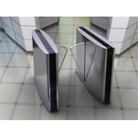 China Acrylic Glass Security Gate Flap Barrier  wholesale