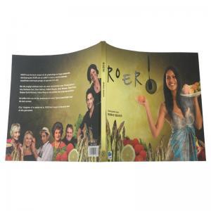 China Offset Printing Custom Cookbook Printing Modern Design Customized Size wholesale