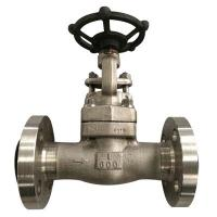China ASTM A182 F316L Forged Steel Gate Valve Integral Type Weld Bonnet Gate Valve wholesale