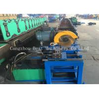 China Customized Oval Duct Pipe Roll Forming Making Machine 380v 4.5kw Power wholesale