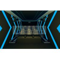 China Mini 6persons mobile 5D cinema system with luxury motion chairs by Pneumatic / Hydraulic control wholesale